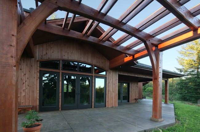 Timber Style Residence Exterior